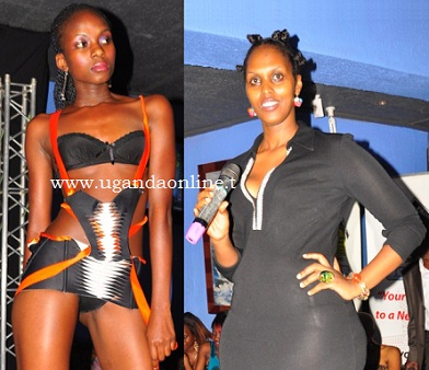 De-La Diva's Cindy Kemigisha addressing revellers at Club Silk