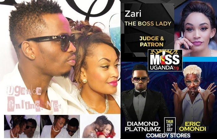 Diamond Platnumz and Zari will be in town
