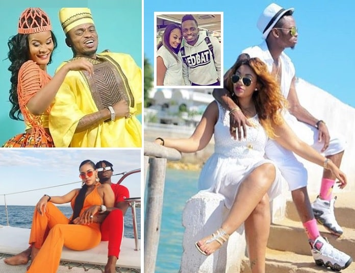 Diamond Platnumz and Hamisa Mobetto, Tanasha Donna and Zari Hassan