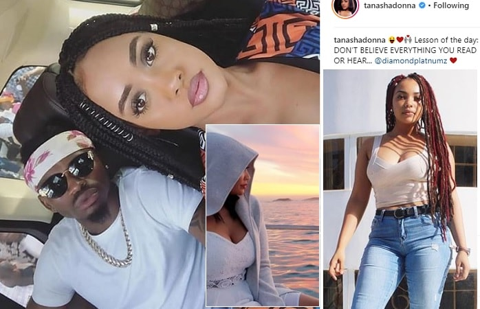 Diamond Platnumz and his women