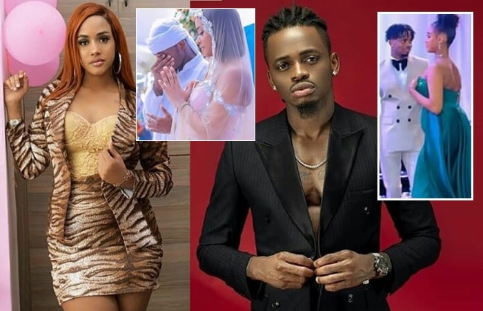 Diamond Platnumz and Tanasha Donna marketing tricks...