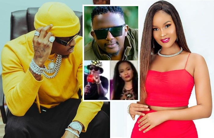 Diamond Platnumz and Hamisa Mobetto were once lovers
