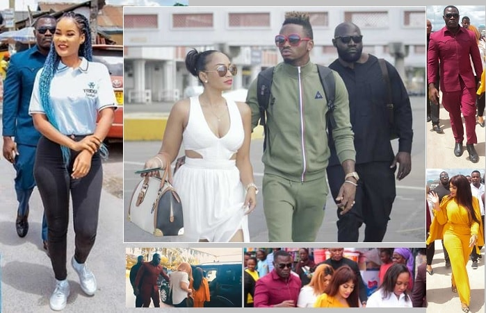 Hamisa Mobetto and Zari hire services of Diamond Platnumz's former bodygaurd