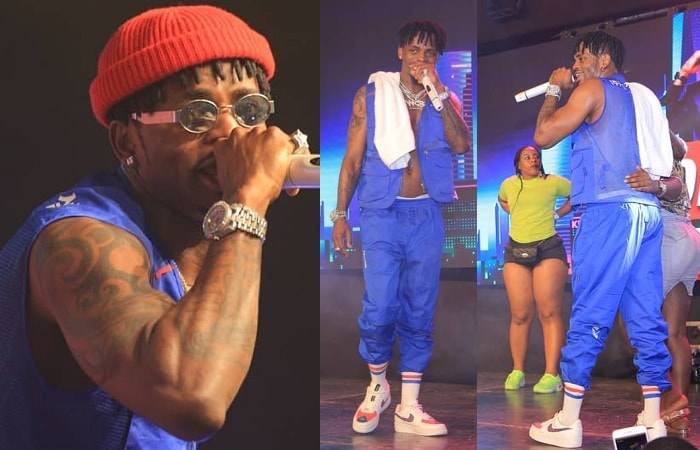 Diamond Platnumz in Kampala