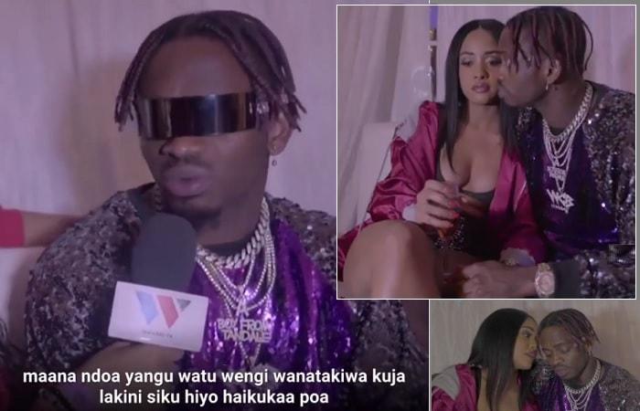 Uganda Online - Diamond Platnumz calls off the Valentine's