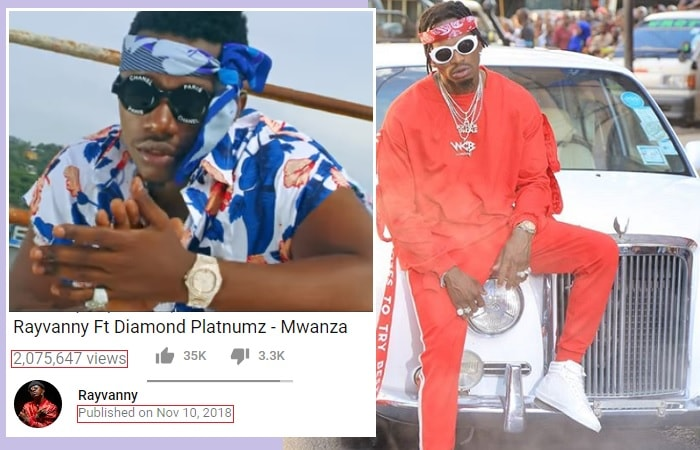 The Mwanza song has 2million views in four days