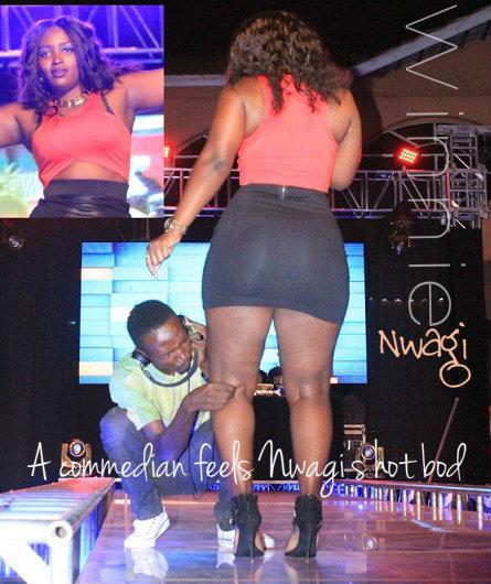 The Musawo singer being felt