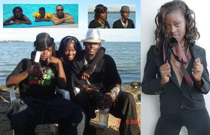 Dorah Mwima with Mowzey Radio and Weasel