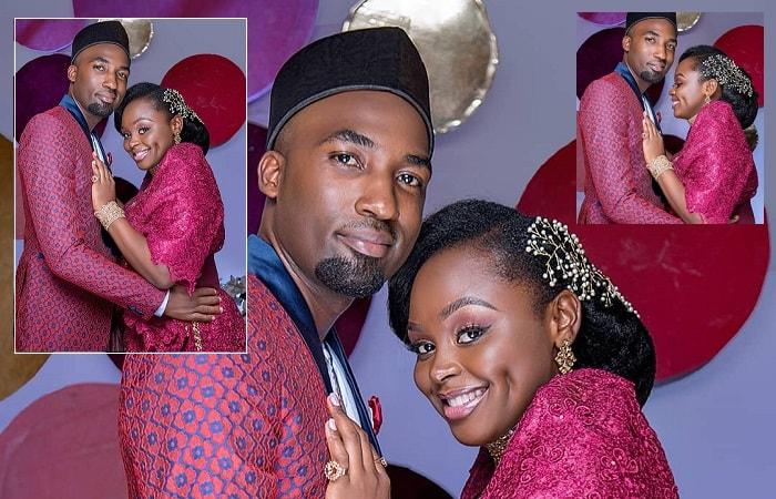 Dr. Ssebunya and his wife Rema Namakula