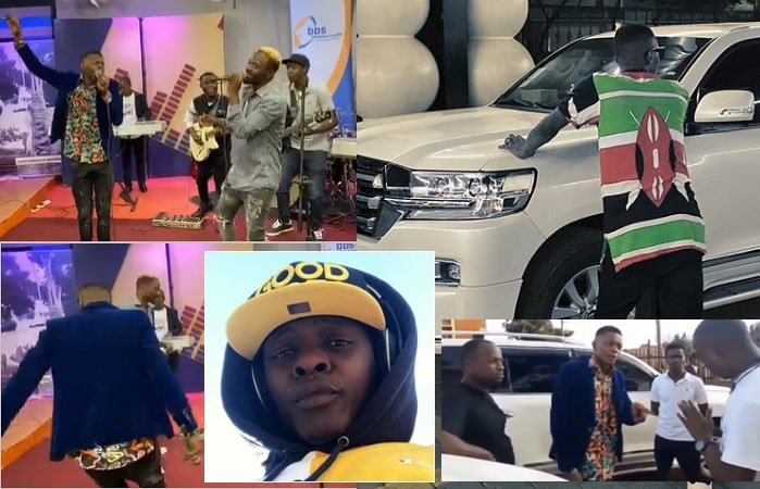 Chameleone and his Land Cruiser V8 woes