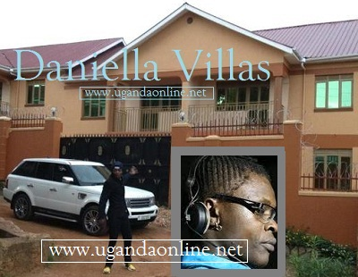 Chameleone showing off the Villas he built for his wife Daniella