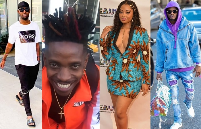 Eddy Kenzo, Eric Omondi and Diamond Platnumz won AEAUSA awards, Anita Fabiola was the host