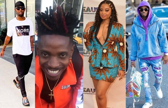 Eddy Kenzo, Eric Omondi and Diamond Platnumz won AEAUSA awards, Anita Fabiola was the host