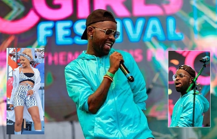Eddy Kenzo performing at the 2019 Girls Festival
