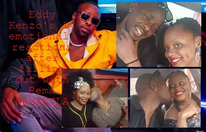 Eddy Kenzo pens down an emotional letter to Rema following their breakup