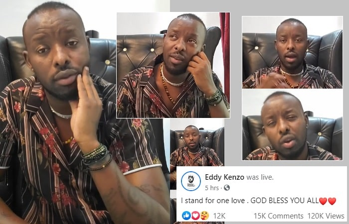Eddy Kenzo speaks to his fans from Ivory Coast