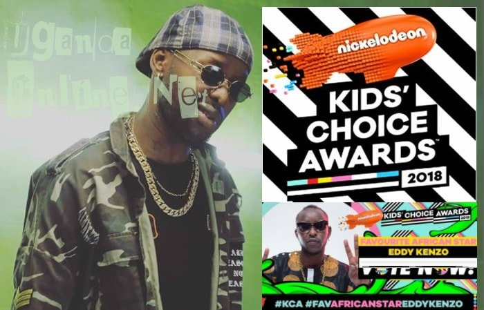 Eddy Kenzo is the Nickelodeon African Favourite star for the year 2018