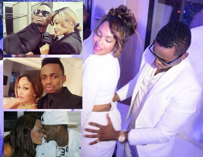 Zari and Diamond Platnumz durinmhg their hey days