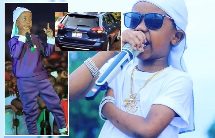 Fresh Kid performing in Jinja and in Kampala over the weekend