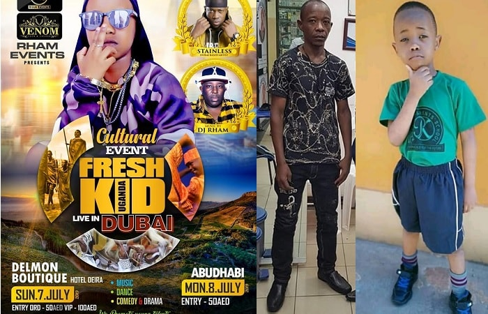 Fresh Kid's Dubai and Abu Dhabi shows hang in the balance after the cancellation of the US show