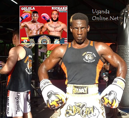 Moses Golola VS. Richard Abraham