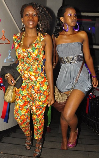 Babes at club Rouge for the Fashion show