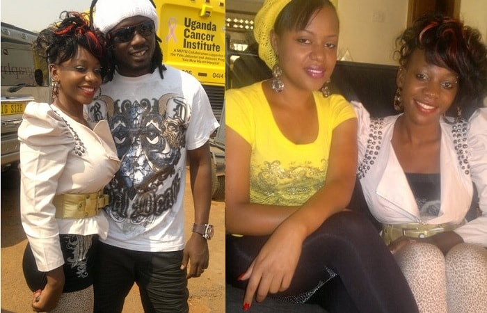 Bad Black, Bebe Cool and Zuena during the happy times