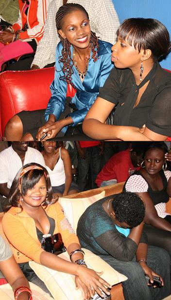 Fans at the Ragga Dee Unplugged Show at Club Silk, Kampala 28.May.2009