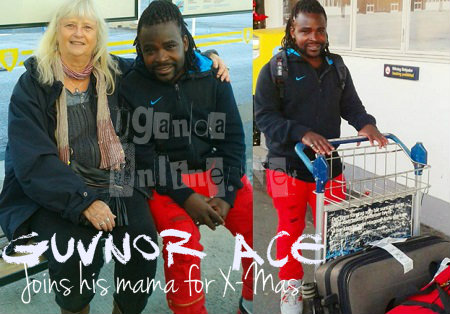Guvnor Ace was received by his Sugar Mom