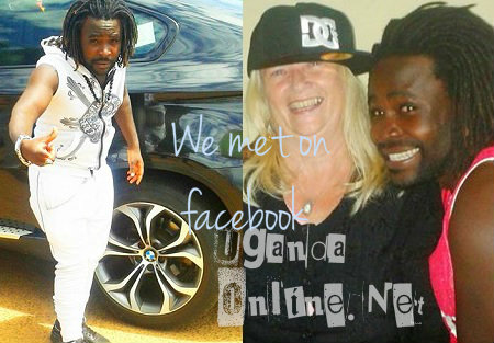 Guvnor Ace and Lisa Mandy met on facebook