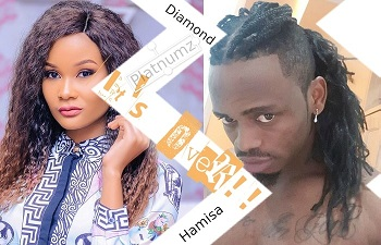 Hamisa Mobetto and Diamond Platnumz