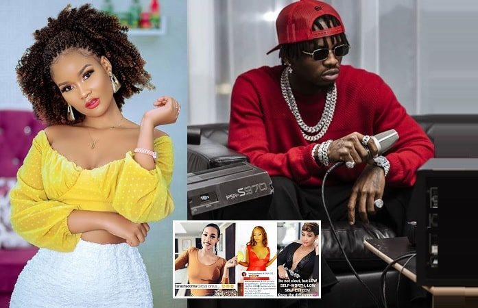 Hamisa Mobetto has just not given up on Diamond Platnumz yet, but her rivals advise otherwise