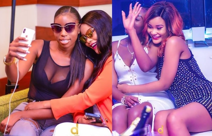 Best Female Friends - Cuppy Ayokya and Hamisa Mobetto