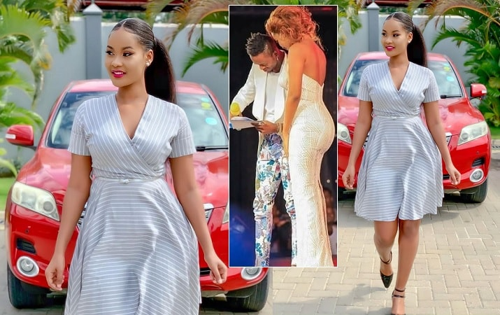 Hamisa Mobetto looking stunning in this dress from Mobetto Styles
