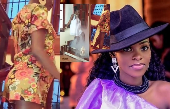Hellen Lukoma shows off her baby bump