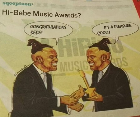 The cartoon that made Bebe Cool lose his cool