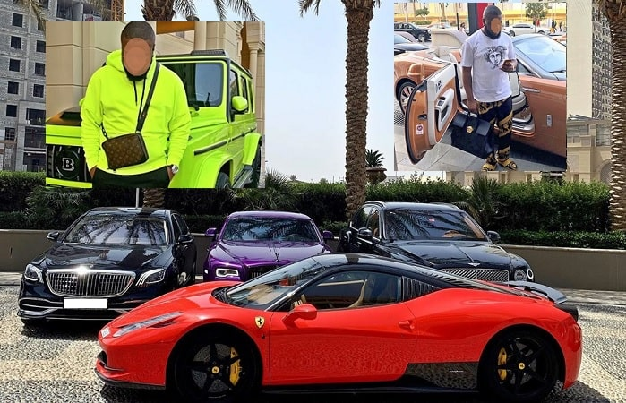 Some of Hushpuppi's super rides that were impounded