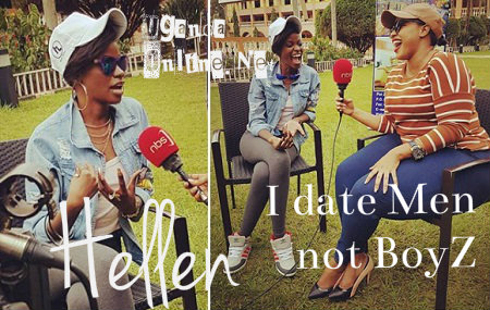 Hellen Lukoma during her interview with Agatha Loswash of NBS TV