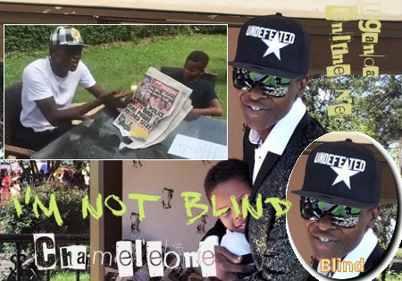 I'm not blind - Chameleone cries out
