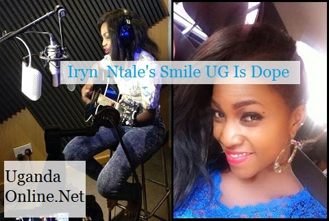 Guitarist Irene Ntale doing her thing