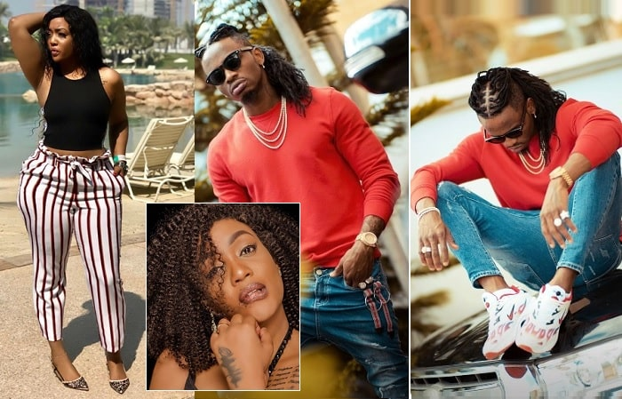 Irene Uwoya and Diamond Platnumz