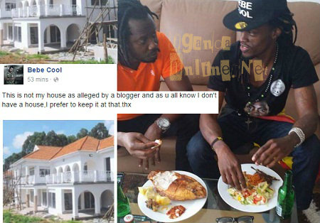 That's not my house...In fact I have no house - Bebe Cool