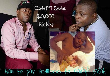 Ivan's accuser in the theft  case is $10,000 richer