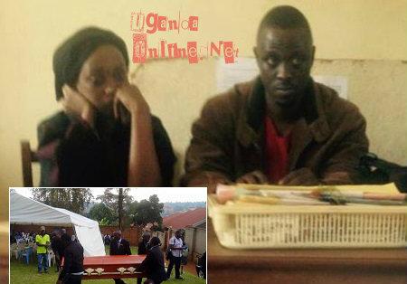 Nina and Ivan at Jinja Central Police station