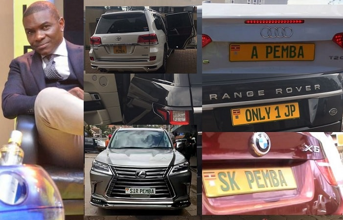 Jack Pemba and some of hi posh rides