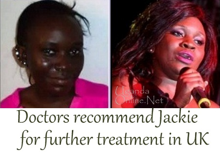 Uganda doctors give up, recommend her for UK experts