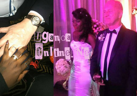Newlyweds Nol and Jay showing off their rings