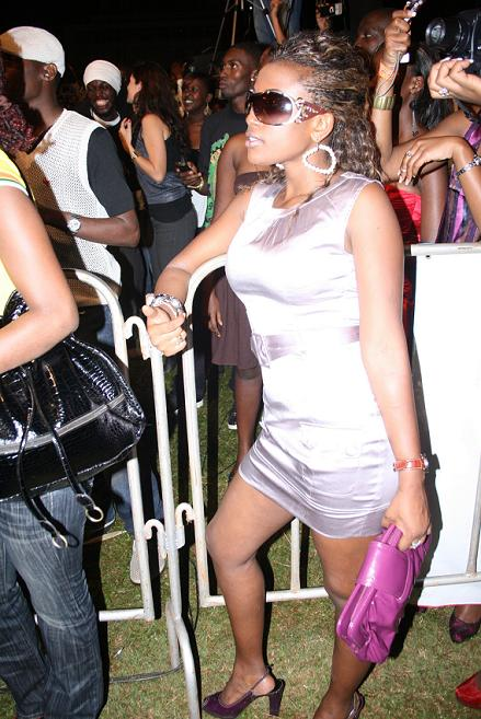 Fans at the Lugogo Show