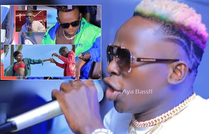 John Blaq aka Aya Bass has teamed up with Sheebah and Grenade on track dubbed Replace Me