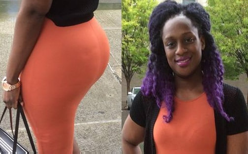 Julia Kawalya showing off her Brazilian butt